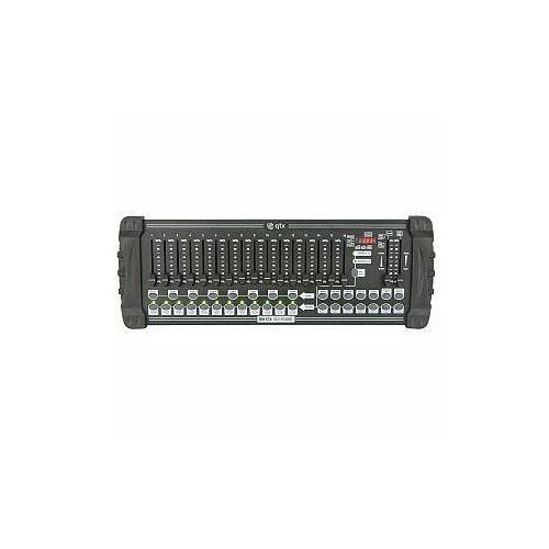 Qtx dm-x18 384 channel dmx controller, kontroler oświetleniowy dmx (5015972085110)