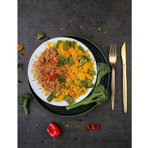 Sportfood Meksykańska wołowina w sosie paprykowym z ryżem i warzywami / niepasteryzowane
