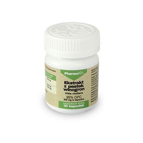 Pharmovit ekstrakt z pestek winogron 95% opc - 30 kaps.