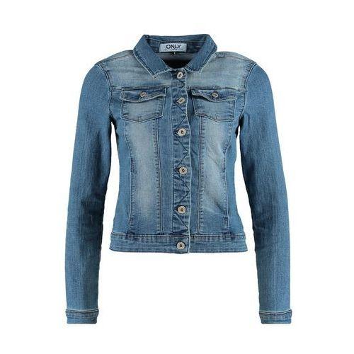 ONLY WESTA Kurtka jeansowa medium blue denim - produkt dostępny w Zalando.pl