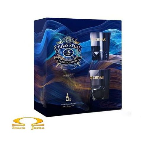 Whisky Chivas Regal 18 YO + 2 szklanki, A99A-7226F