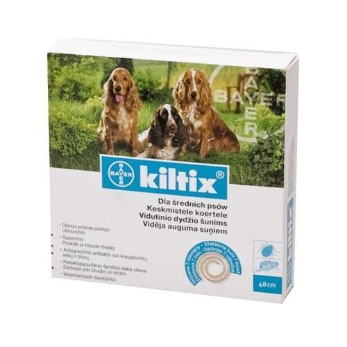 BAYER Kiltix - Obroża dla psów średnich (dł. 53cm), marki Bayer do zakupu w KrakVet
