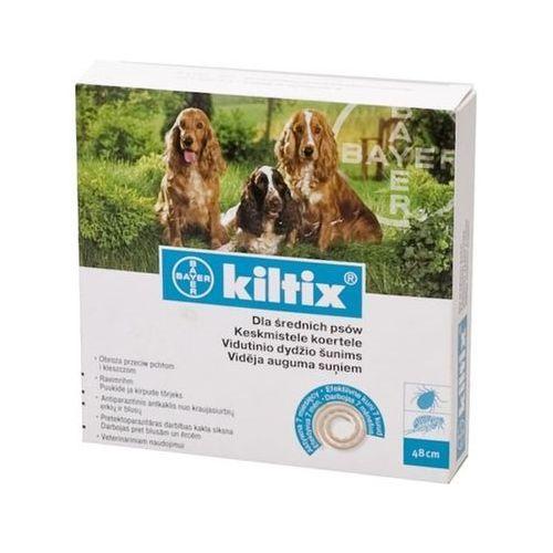 BAYER Kiltix - Obroża dla psów średnich (dł. 53cm) ze sklepu KrakVet