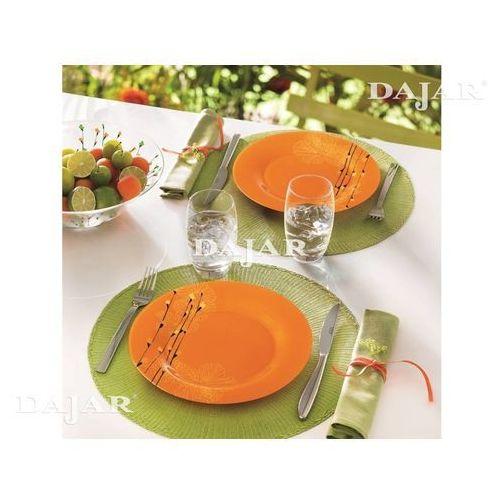 Komplet obiadowy Rhapsody Orange 18-elementowy LUMINARC - sprawdź w sklep.DAJAR.pl