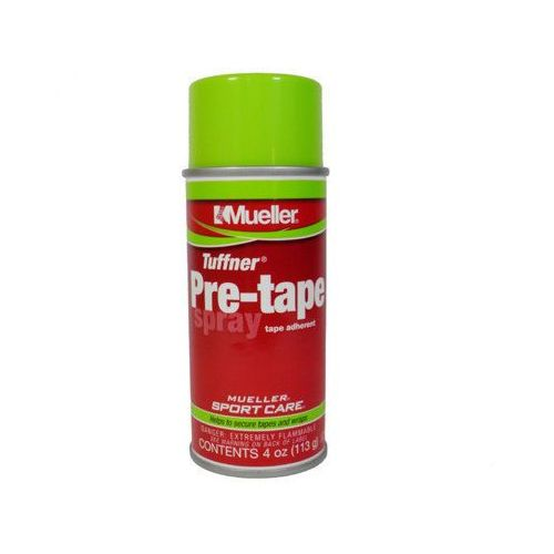 Spray pod taśmy tuffner pre-tape klej do kinesio taping 113g, marki Mueller