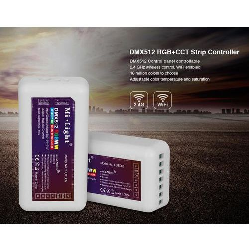 Kontroler taśm LED DMX512 RGB+CCT - FUTD02
