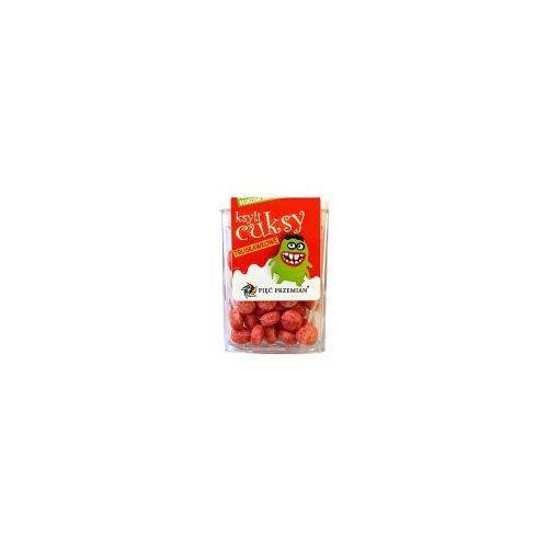 PIĘĆ PRZEMIAN Cuksy truskawkowe z ksylitolem 13g, 11SIMCUKTR