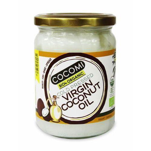 Cocomi dystrybutor: bio planet s.a., wilkowa wieś 7, 05-084 leszno k. Olej kokosowy virgin bio 500 ml - cocomi