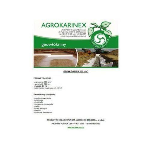 Geowłóknina 100 g/m2, biała 1,6 x 50 mb. Rolka. - produkt z kategorii- folie i agrowłókniny