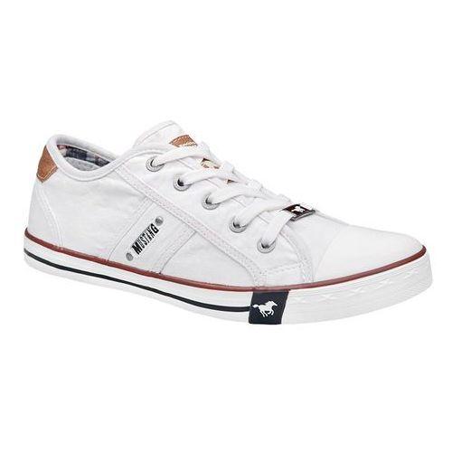 Trampki MUSTANG 36C0024 Białe 1099-302-1 Weiss - Biały