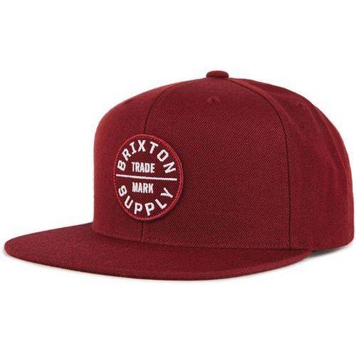 czapka z daszkiem BRIXTON - Oath Iii Snapback Burgundy/Burgundy (BUBUG) rozmiar: OS
