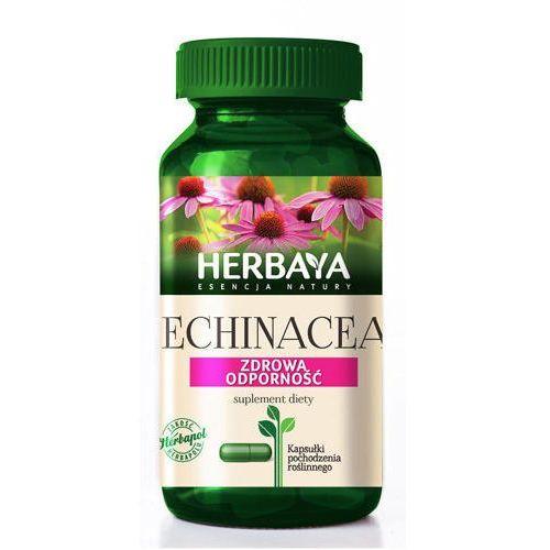 Kapsułki HERBAYA Echinacea prawidłowa odporność 60 kapsułek - Długi termin ważności! DARMOWA DOSTAWA OD 180 ZŁ! SZYBKA REALIZACJA ZAMÓWIENIA!