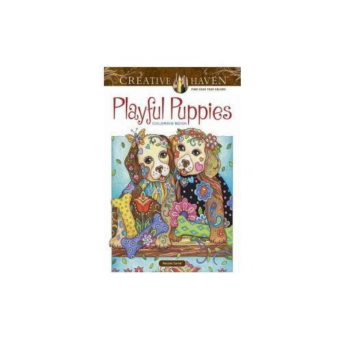 Creative Haven Playful Puppies Coloring Book (working title) (9780486812687)