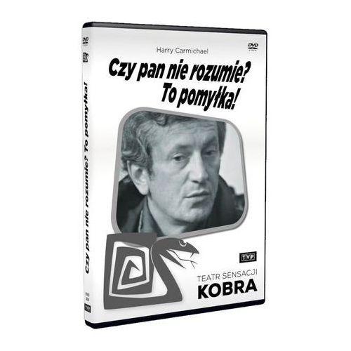 Czy pan nie rozumie? to pomyłka! (teatr sensacji kobra) marki Telewizja polska