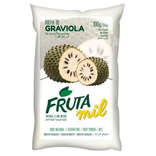 Graviola, Guanabana, Flaszowiec miąższ (puree owocowe, pulpa, sok z miąższem) bez cukru (2275801010002)
