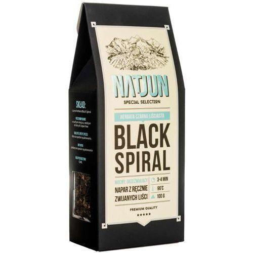 NATJUN Herbata czarna Black Spiral 100g data wazności 12.2017