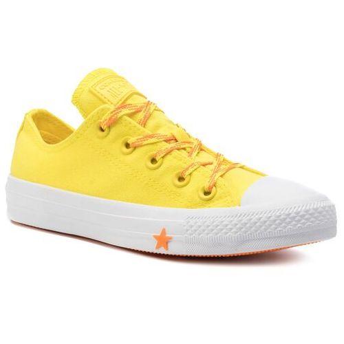 Trampki CONVERSE - Ctas Ox 564116C Fresh Yellow/Orange Rind/White, w 8 rozmiarach