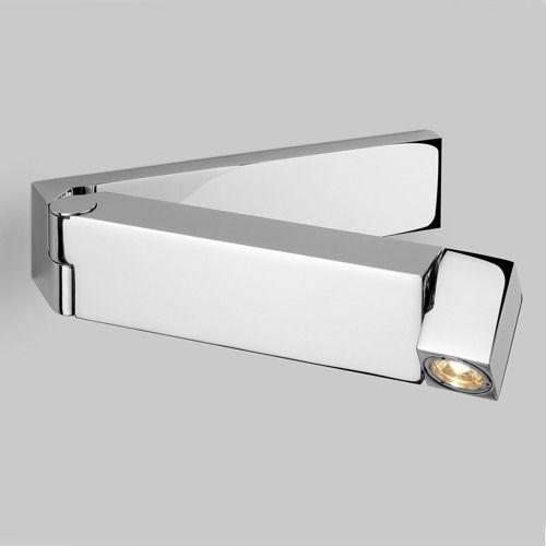 Astro Tosca led swing arm wall light chrome (5038856008500)