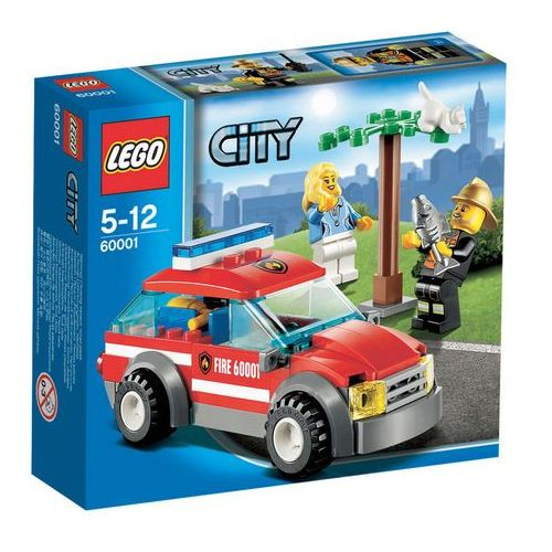 Lego City SAMOCHÓD KOMENDANTA STRAŻY POŻARNEJ 60001 z kategorii: klocki dla dzieci