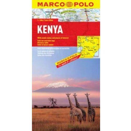 Kenia 1:1 000 000. Mapa samochodowa. Marco Polo (9783829739023)