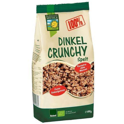 Crunchy orkiszowe bio 400 g - bohlsener muehle marki Bohlsener muehle (ciastka, pieczywo, mieszanki)