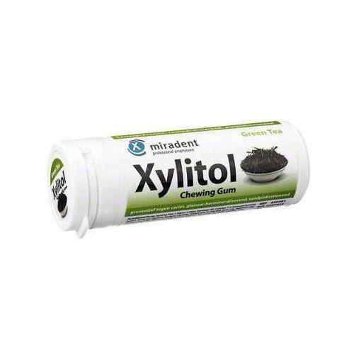 Miradent Xylitol guma do żucia zielona herbata x 30 sztuk