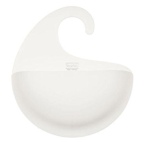 Organizer łazienkowy SURF XL - kolor biały, KOZIOL, 2846525