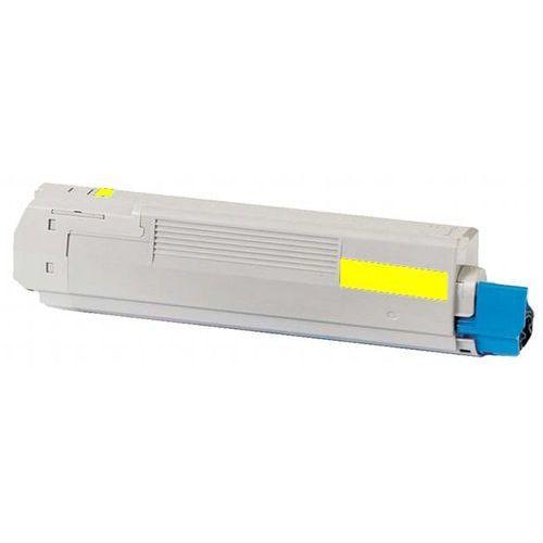 Toner zamiennik dt8600yo do oki c8600 c8800, pasuje zamiast oki 43487709 yellow, 6000 stron marki Dobretonery.pl