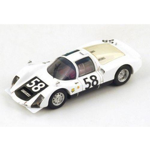 Spark Porsche 906/6 #58 g. klass/r. stommelen 7th le mans 1966 - darmowa dostawa!!!