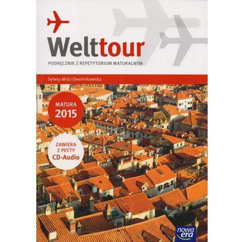 Język niemiecki, klasa 1-3, Welttour, podręcznik z repetytorium, Nowa era + 2 CD - Dostawa zamówienia do jednej ze 170 księgarni Matras za DARMO, Nowa Era