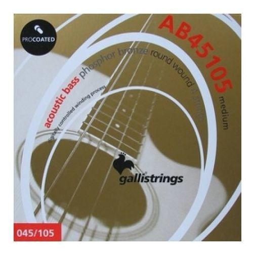 ab-450105 - struny powlekane do akustycznej gitary basowej marki Galli