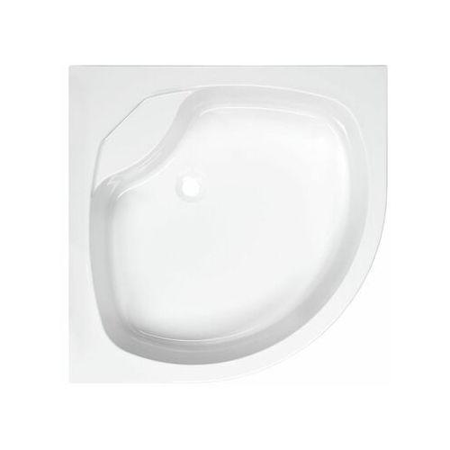 Brodzik do kabiny prysznicowej wysoki beta 90 x 90 x 25 marki Sensea