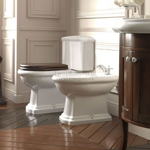 Kerasan Retro kompakt WC odpływ poziomy 1013 z kategorii Miski i kompakty WC