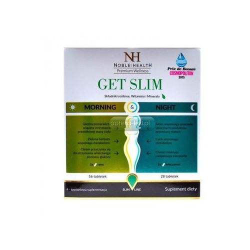 Noble Health GET SLIM MORNING & NIGHT 84 tabletki (tabletki)