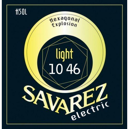 Savarez Light (676527) Struny do gitary elektrycznej Hexagonal Explosion Nickel Light.010-.046