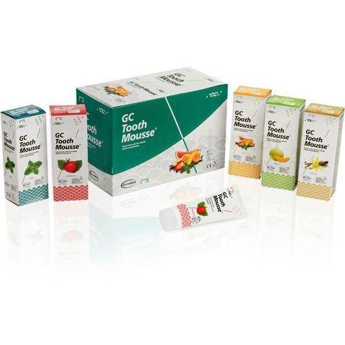 Gc corporation Gc tooth mousse ochronna pasta o potrójnym działaniu - wzmacnia, ochrania i uzupełnia 35ml (płynne szkliwo)