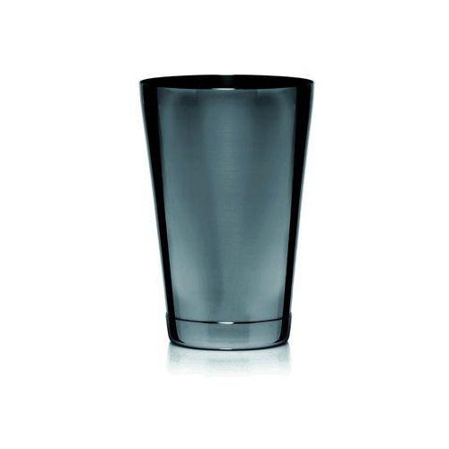 Shaker 2-częsciowy Tin-tin czarny, polerowany, stal nierdzewna