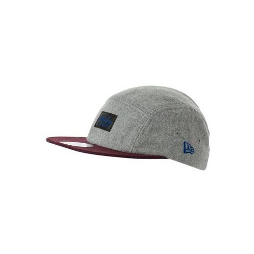 New Era CAMPER MELTON NEW ERA Czapka z daszkiem heather gray/maroon/light royal ze sklepu Zalando.pl