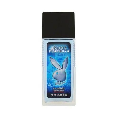 Playboy super men dezodorant w szkle 75ml (3607346621875)