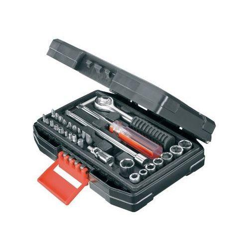 Black & decker Zestaw kluczy nasadowych i bitów black&decker a7142-xj (33 elementy) (5035048010822)