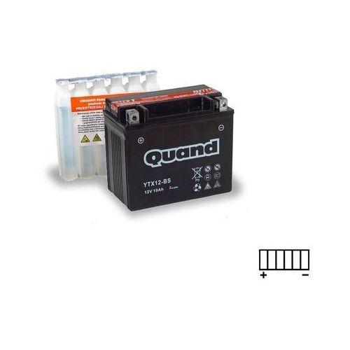 Akumulator motocyklowy QUAND YTX12-BS 12V 10Ah 180A L+