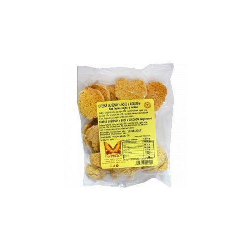 Ciasteczka OWSIANE z goji i kokosem bezcukrowe i bezglutenowe 150 g Natural