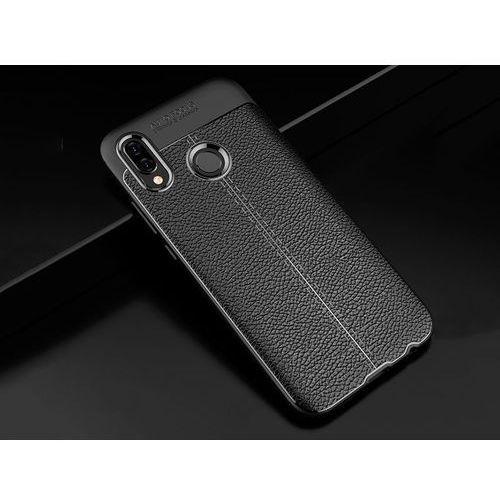 Alogy Etui pancerne leather case huawei p20 lite czarne