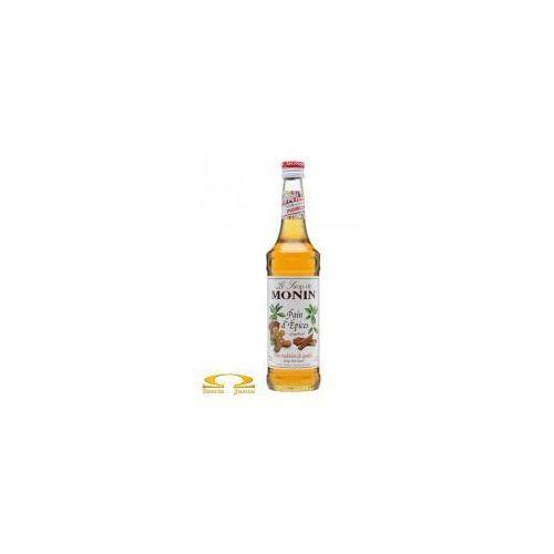 Syrop smakowy Monin Gingerbread Piernik 50ml
