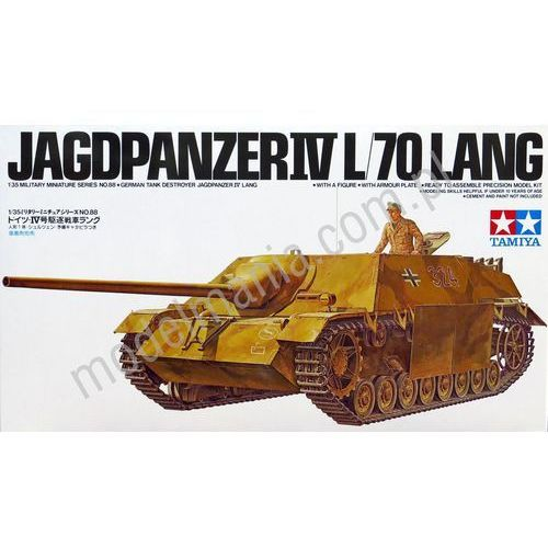 Niemieckie działo pancerne jagdpanzer iv l/70 lang 35088 marki Tamiya