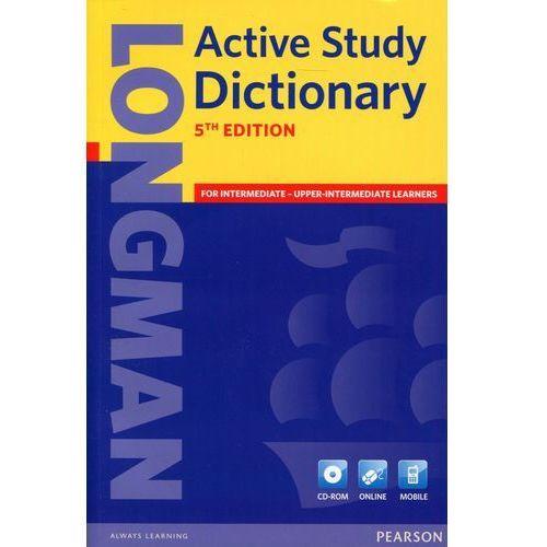 Longman Active Study Dictionary + CD-ROM (Miękka Oprawa) 5th Edition, Pearson