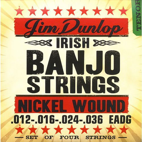 banjo nickel strings irish-tenor 4 strings struny do banjo 12-36 marki Dunlop