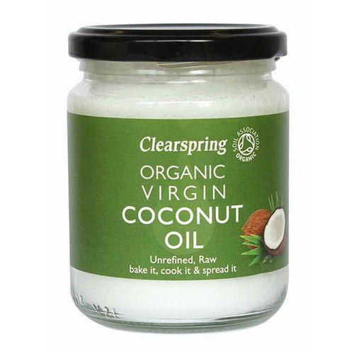 Olej kokosowy virgin bio 200 g / 220 ml marki Clearspring