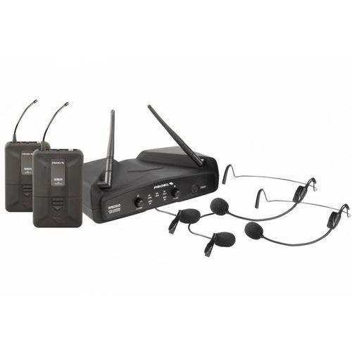 wm202dh - mikrofon bezprzewodowy nagłowny marki Proel