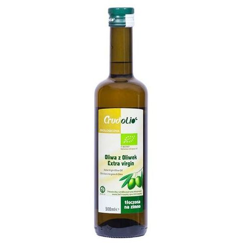 Oliwa z oliwek extra virgin BIO 500 ml Crudolio